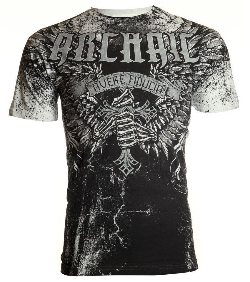 Купить футболку Archaic by Affliction Holy Man в Екатеринбурге
